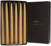 Root Unscented 23cm Hand Dipped Taper Candles, Raw Beeswax Colour, 12-Count Box