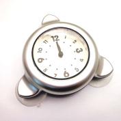 xhorizon Bathroom Shower Kitchen Clock Waterproof Watch(Silver£©