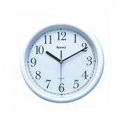 Geneva/Advance Clock Co 8101 Tradition 25cm White Plastic Wall Clock, Round