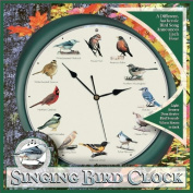Mark Feldstein Original Singing Bird Clock, 27cm