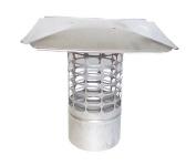 18cm Slip-In Round Stainless Steel 3/4 Mesh Cap