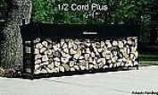 The Woodhaven 3m Firewood Log Rack - Woodhaven Original Site