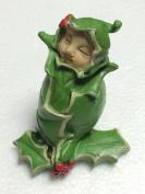 The Fiddlehead Fairy Garden Flower Bud Babies Holly - December Miniature Fairy Garden Accessory #16971