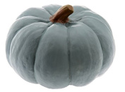 Boston International Pumpkin Decorative Table Accent, Small, Teal