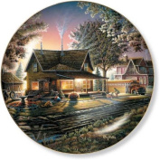 His First Day by Terry Redlin 21cm Decorative Collector Plate