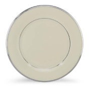 Lenox Solitaire Platinum Banded Ivory China Dinner Plate