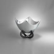 Nambe Anvil Scroll Bowl, 23cm , Iron Finish Metal Alloy