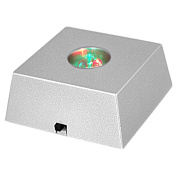 3 LED Colourful Light Crystal Figurine Display Stand
