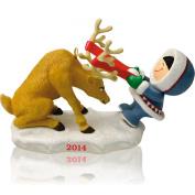 Frosty Friends 35th In Series - 2014 Hallmark Keepsake Ornament