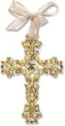 50th Anniversary Cross Ornament - Beautiful & Traditional 50th Anniversary Gift Idea