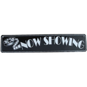 NOW SHOWING movie theatre sign home theatre decor