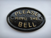 """""""Please Ring The Bell"""" House/Garden Wall Plaque in"""