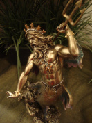 Sale - Poseidon Neptune Greek Roman Statue - Magnificent !!