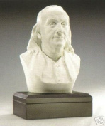 Sale - Fathers DAY Gift - Ben Franklin Bust - Founding Father