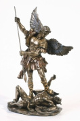 * Sale * - Archangel St Saint Michael Statue Sculpture Magnificent
