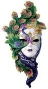 Lady Peacock Venetian Style Carnival Mask Wall Decor