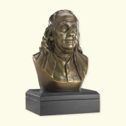 Sale - Ben Franklin Bust - Founding Father -The Perfect Gift