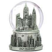 "3.5"" New York City Silver Lined Snow Globe 65mm NYC Souvenir Snow Globes"