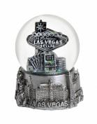 Las Vegas 65mm Snow Globe - Silver