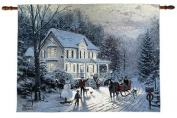 Thomas Kinkade Home For The Holidays Fibre Optic Wall Hanging Manual Woodworkers