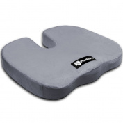Coccyx Orthopaedic Comfort Foam Seat Cushion~by PharMeDoc~SEVEN colours AVAILABLE