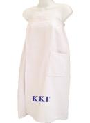 Kappa Kappa Gamma White Towel Wrap