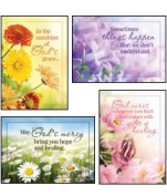 Sunny Wishes - KJV Scripture Greeting Cards - Boxed - Get Well