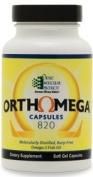 Ortho Molecular Products, Orthomega capsules 120 gels