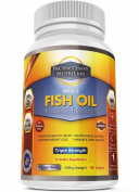 PacificCoast NutriLabs 2000mg Fish Oil, 1,400mg Omega 3, 800mg EPA, 600mg DHA. 120 Count