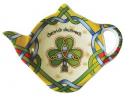 Celtic Shamrock Tea Bag Holder-Tea Accessories