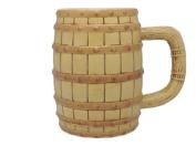 Oktoberfest Beer Barrel Ceramic Beer Stein