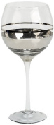 IMPULSE! Chelsea Goblet, Set of 4, Clear/Silver