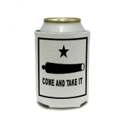 Come and Take it - Texas Flag - Revolt Can Cooler - Drink Insulator - Beverage Insulated Holder