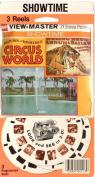 Ringling Bros. Circus World 3d View-Master 3 Reel Packet