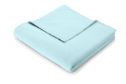 Biederlack Sevilla Blanket/ Throw, Blue Topaz