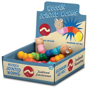Wooden Jointed Worm
