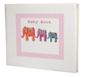 baby record book,baby memory book,baby girl gift,elephant