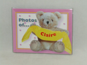 "PHOTOS OF CLAIRE - BABY PHOTO ALBUM 60cm X 10cm X6"" PHOTOS"