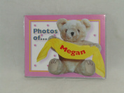 "PHOTOS OF MEGAN - BABY PHOTO ALBUM 60cm X 10cm X6"" PHOTOS"