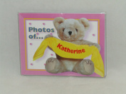 "PHOTOS OF KATHERINE - BABY PHOTO ALBUM 60cm X 10cm X6"" PHOTOS"