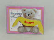 "PHOTOS OF KATHRYN - BABY PHOTO ALBUM 60cm X 10cm X6"" PHOTOS"