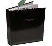 Arpan Large Black Memo Slip In Photo Album 200 10cm x 15cm Photos