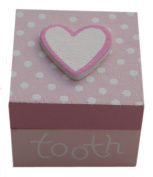 Gisela Graham Wooden First Tooth Box