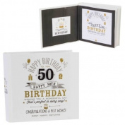 Signography 50th Birthday Photo Album 4x6