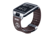 for Samsung Standard Watch Strap for Galaxy Gear 2/Neo - Moschino Silver Peace