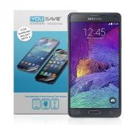 Yousave Accessories for Samsung Galaxy Note 4 Screen Protector Three Pack