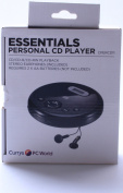 Currys Essentials CPERCD11 Personal CD Player BLACK