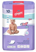 BELLA 90 X 60 CM DISPOSABLE BEDSHEETS BABY DISPOSABLE UNDERPADS CHANGING MATS 10 PCS