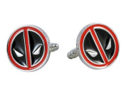 Deadpool Face Superhero Cufflinks