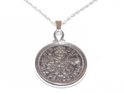 Cinch Pendant 1964 Lucky sixpence 50th Birthday plus a Sterling Silver 46cm Chain